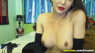 Webcam shemale hottie free busty cam shemale