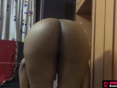 South Indian Fingering Her Asshole