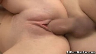 Blonde Beauty Gets Fucked On The Couch
