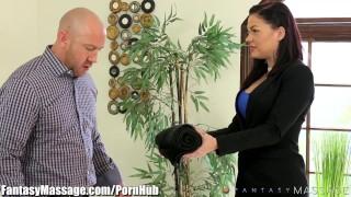Client karma fantasymassage blindfolds karmen horny big tattoos
