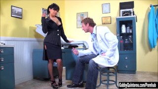 Gabby fucks doctor meximilf quinteros her sucks mexi milf