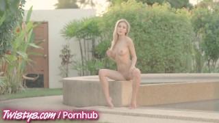 Twistys - Hot brunette and blonde masturbate