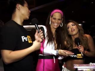 PornhubTV Syren de Mer Interview at 2015 AVN Awards