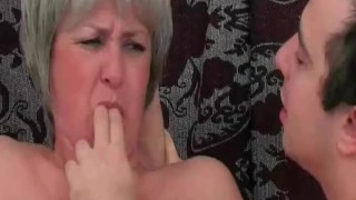 Her slut the man bathroom nasty gets with in mature tits mature