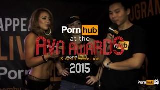 PornhubTV Sophie Dee Interview at 2015 AVN Awards Tv swingers