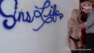 Johnny Sins & Kissa Sins rough squirting fuck and best creampie EVER Me blowjob
