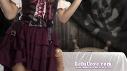 Lelu Love-Female Pirate Rough Dildo Handjob