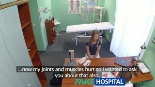 Doctors fakehospital blonde massage the gets innocent reality cam