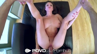 HD POVD - Dillion Carter with nice tits gets fucked in pov Butts butt