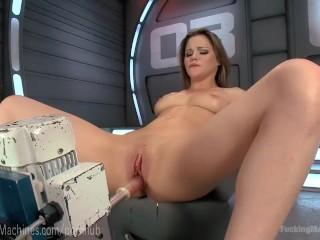Preview 4 of Innocent Newbie Fucks Dildo Robot