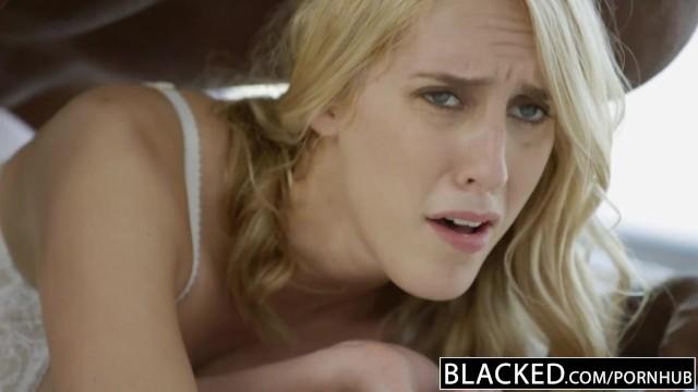 Boss Blondine gefickt schwarzer Schwarzer fickt