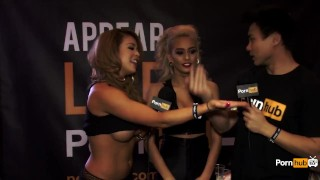 Interview griffith awards avn at pornhubtv janice expo las