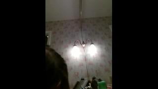 Cheerleader Bathroom Sextape