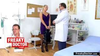Of exam on closeups rachel evans vaginal gorgoues blonde young toys