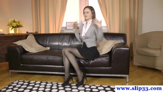 Beauty classy fuck stockings for rips oldvsyoung euro european stockings