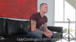 Tattoos audtion stud muscular with porn amateur facial