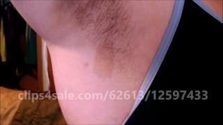 Sexy BBW Hairy Armpits Saffron Burke