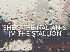 She's The Italian & I'm the Stallion BBC Complition