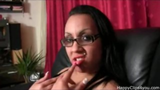 Gina's footjob, handjob and more...
