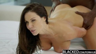 Fitness cock black loves babe lust kendra huge blacked big gym