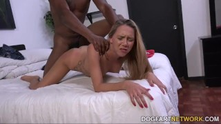 Mack's first interracial hollie scene cock tits
