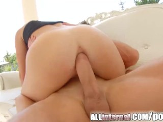 All Internal Anal drilling ends with anal creampie