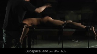 Load ashley tail anus in and creamy for enema mouth rope fucked