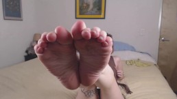 Stoner Girl Smelly Foot/Sock Worship