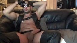 Brad Rioux #7 leather huge dick thick