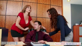 Office share mer milf syren darla crane babes and dick de crane naughty