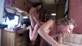 Screen Capture of Video Titled: Morning Oatmeal Fuck