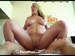Big Tits Brooke Wylde goes from dusting to fucking - PornPros
