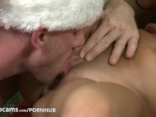 Pornstars Peta Jensen and Johnny Sins have some cam fun Part2
