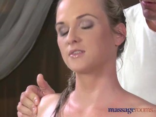 Preview 1 of Massage Rooms Flexible blonde enjoys hard cock in her perfect pussy