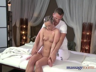 Preview 2 of Massage Rooms Flexible blonde enjoys hard cock in her perfect pussy
