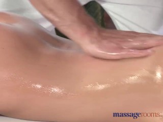 Preview 5 of Massage Rooms Flexible blonde enjoys hard cock in her perfect pussy