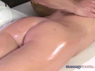 Preview 6 of Massage Rooms Flexible blonde enjoys hard cock in her perfect pussy