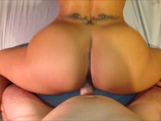 Latina Beauty Goes to Work on a Hard Dick...HOT POV!!