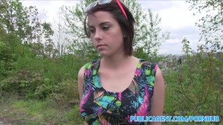 Tits big student publicagent with in park a fucked public cumshot