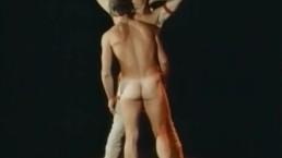 "Rick ""Humongous"" Donovan Gets Blowjob in Fantasy Scene from HEROES (1984)"