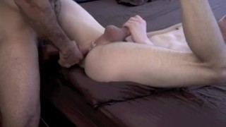 A nerd by guy young fucked muscular raw nerd