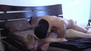 Young nerd fucked by a muscular guy Jock twink