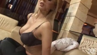 Takes blonde girl her russian monster party cock in ass big fuck