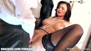 Anna Polina sucks some cops cock - Brazzers