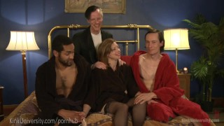 Triple and double penetration  school instructional