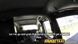 FakeTaxi New cab driver gives customer a good facial