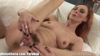 Creampie compilation hairy pussy whiteghetto open interracial