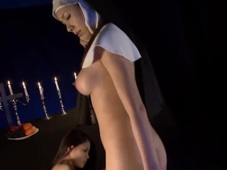 Japanese Ward of Darkened Illusions Occult Orgy with Cumshot Conclusion