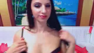 Gorgeous Shemale Jerking her Dick