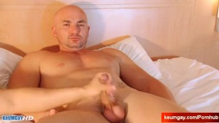 By money client  vendors wanked his for gets straight a by cock massage keumgay